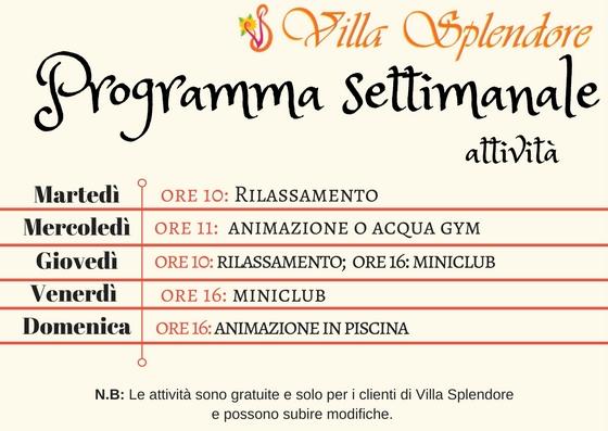 programma villa