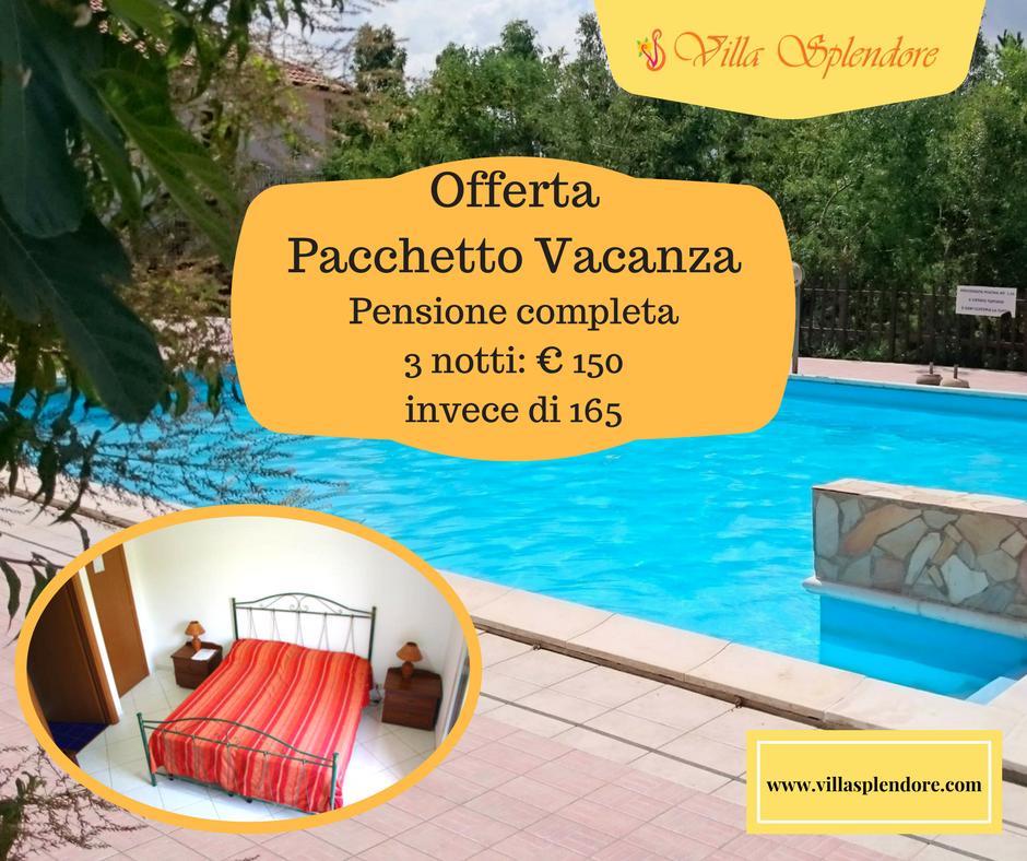 Pacchetto Vacanza estate 2017