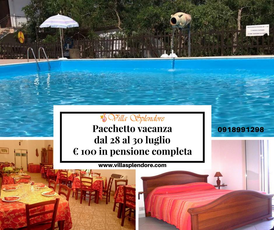 FB Pacchetto vacanza dal 28 al 30
