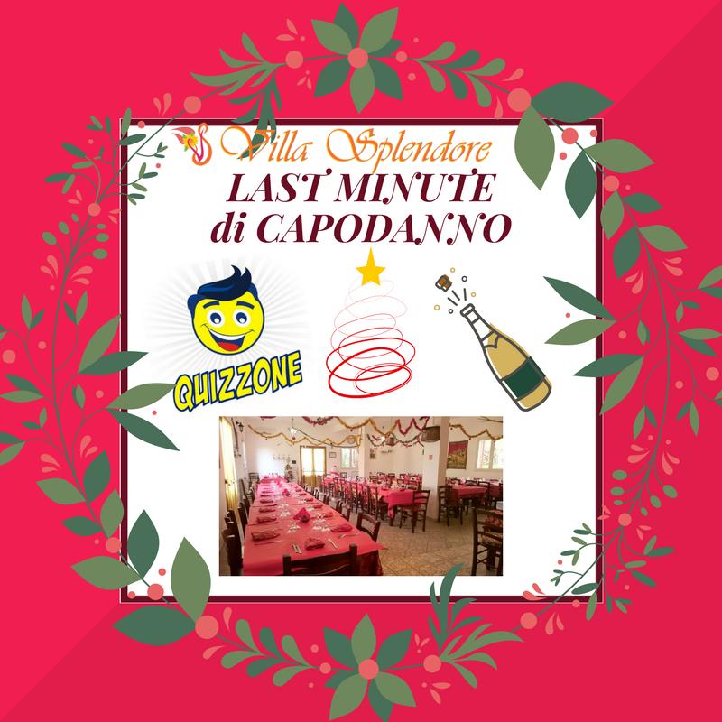 Last minute di capodanno villa splendore for Capodanno a parigi last minute