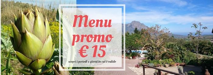 menu promo 15€